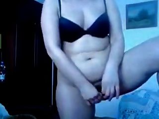 Chubby Milf Fingering Herself