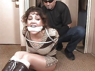 Hogtied-cleave Gagged