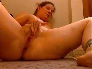 Dildo Fucking And Getting Off