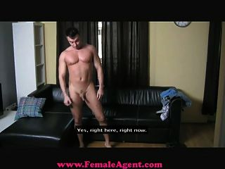 Femaleagent - Cocky Casting Guy Gets Dominated