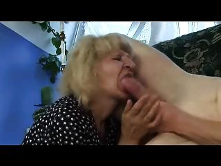 Blonde Granny Fucks