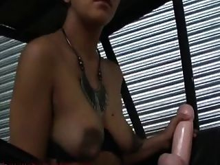Arab Slut Toys On Golf Cart