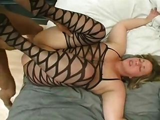 Chubby Blonde Love Big Black Cock