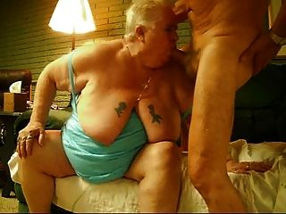 Older Couple Saying Hi