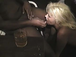 Blonde With Two Other Guys Interracial