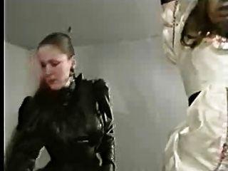 Femdom Humiliates Sissy Slut