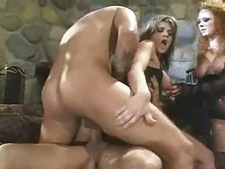 Tyla Wynn With Two Cocks In Her Ass While Audrey Hollander Watches