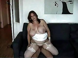 Bbw With Big Tits Is Fucked