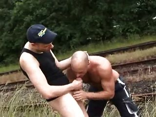 Fucking On The Railroad - Raw