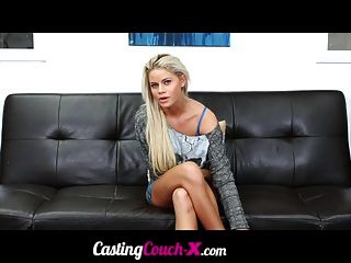 Castingcouch-x Amateur Blonde Audition Tape