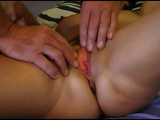 Huge Spunking Cum Over Orgasming Pussy