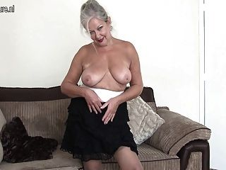 Mature British Grandma Shows She Still Got What It Takes