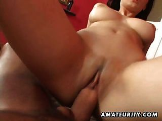 Busty Teen Amateur Girlfriend Sucks And Fucks With Cumshot