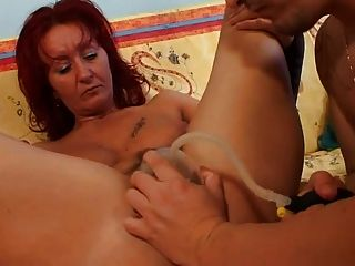 Mature Pussy Pumped & Fucked