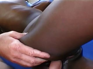Tish takes a bbc right up her arse nice facial to finish 10