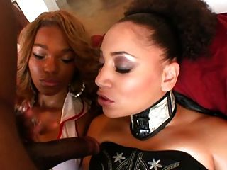 Big Booty Vixens Sabara And Apple Get Fucked