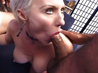 Slutty Blonde Milf In Double Action...usb