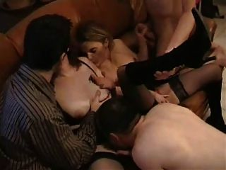 Baise entre amis steph debar french blonde in gangbang - 2 part 1