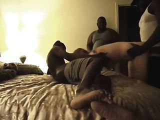 Amateur Interracial Group Gangbang