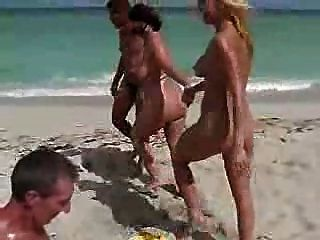 Nikki Hunter Plays With Guys At Nude Beach 2 By Snahbrandy