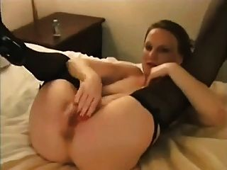White Hotwife Extremely Entertained By Several Black Bulls