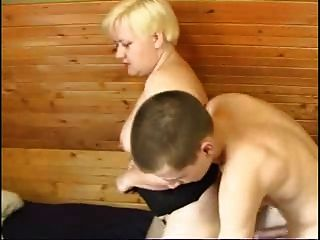 Mature Woman And Young Boy