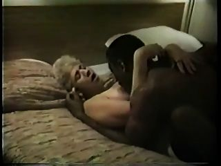 Old Broad In Stockings Gets Her Black Cock Fix, 1 Of 2