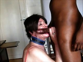 Amateur Cross Dresser Sucks And Fucks Black Cock