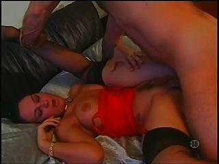 French Wife In Stockings Loves Anal