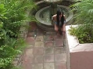 Avena Lee Aka Melia Playing With Herself And Squirting!