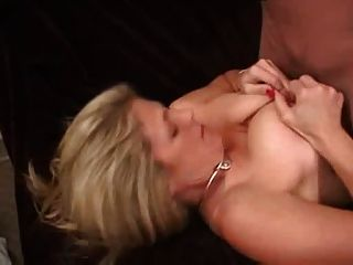 Blonde Milf Is Poked On A Sofa -prt-