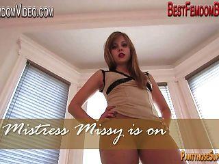Mistress Missy Pantyhose Pov