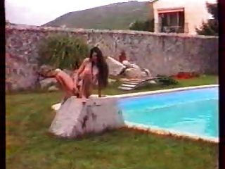 Josephine In Swimming Pool