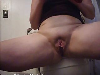 Caught Masturbating In Bathroom