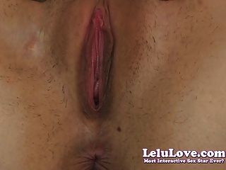 Lelu Love-pussy Asshole Super Closeup
