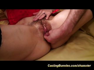 Her First Anal Porn Casting