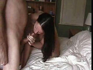Homemade Amateur Brunette Fucked In Livin