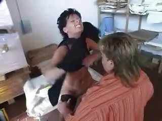 German Mature Boss Fucking