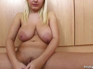 Big Tits Pamela Has Fun With Dildo