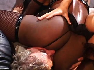 Dominated By A Big Black Ebony Ass