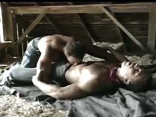Cowboy Farmhands Fucking In A Barn....
