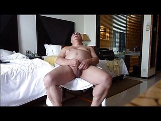 Mature Solosexual Showing His Genitals And Cumming