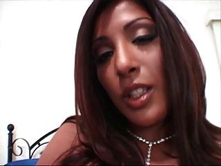British Indian Destiny Deville And Plays With Herself