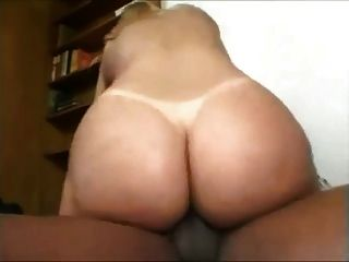 Round Booty White Girl Getting Fucked By A Black Dick