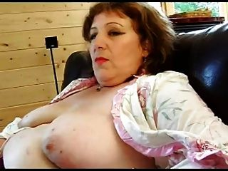 French Mature N52a Anal Bbw Mom Threesome With 2 Younger Men