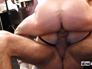 Hung Bareback Doublepenetration
