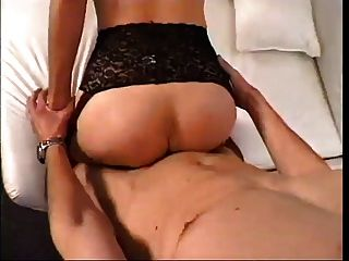 Blonde Mature Teaching Young Man To Fuck