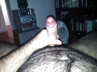 Hairy Bear Wank And Cum