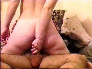 Horny Cheating Wife Fucked In The Ass By Her Lover