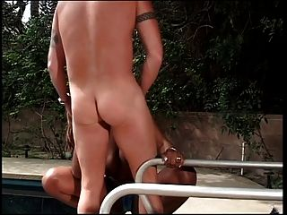 Black Girl Gets White Cock In Her Ass